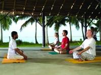 Poovar Island Resort Yoga