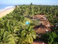 Lotus Villa Luftaufnahme