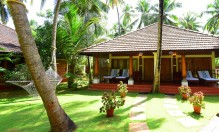 Nattika Beach Ayurveda Resort Deluxe Twin Villa